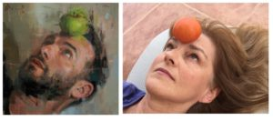 Inspired by Christian Hook - Sky Portrait Artist of the year 2014